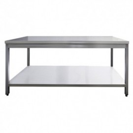 TABLE INOX AISI 201 CENTRALE